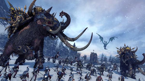 Ya disponible los Norsca y las nuevas unidades élite de Total War Warhammer
