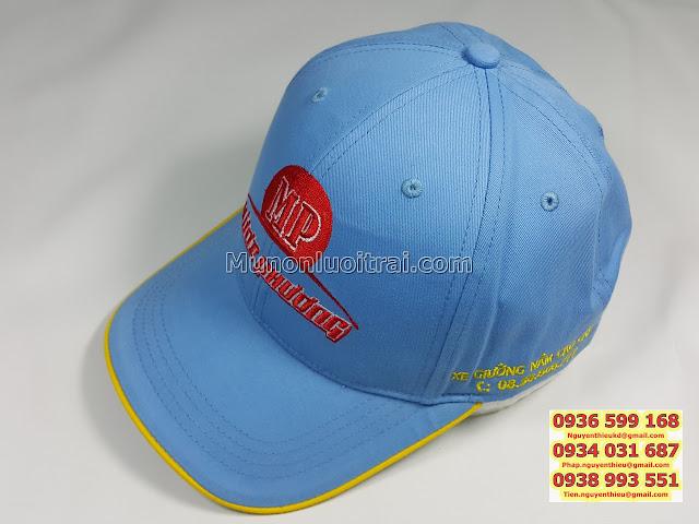 Sản xuất mũ quà tặng doanh nghiệp, sản xuất mũ in thêu logo quà tặng