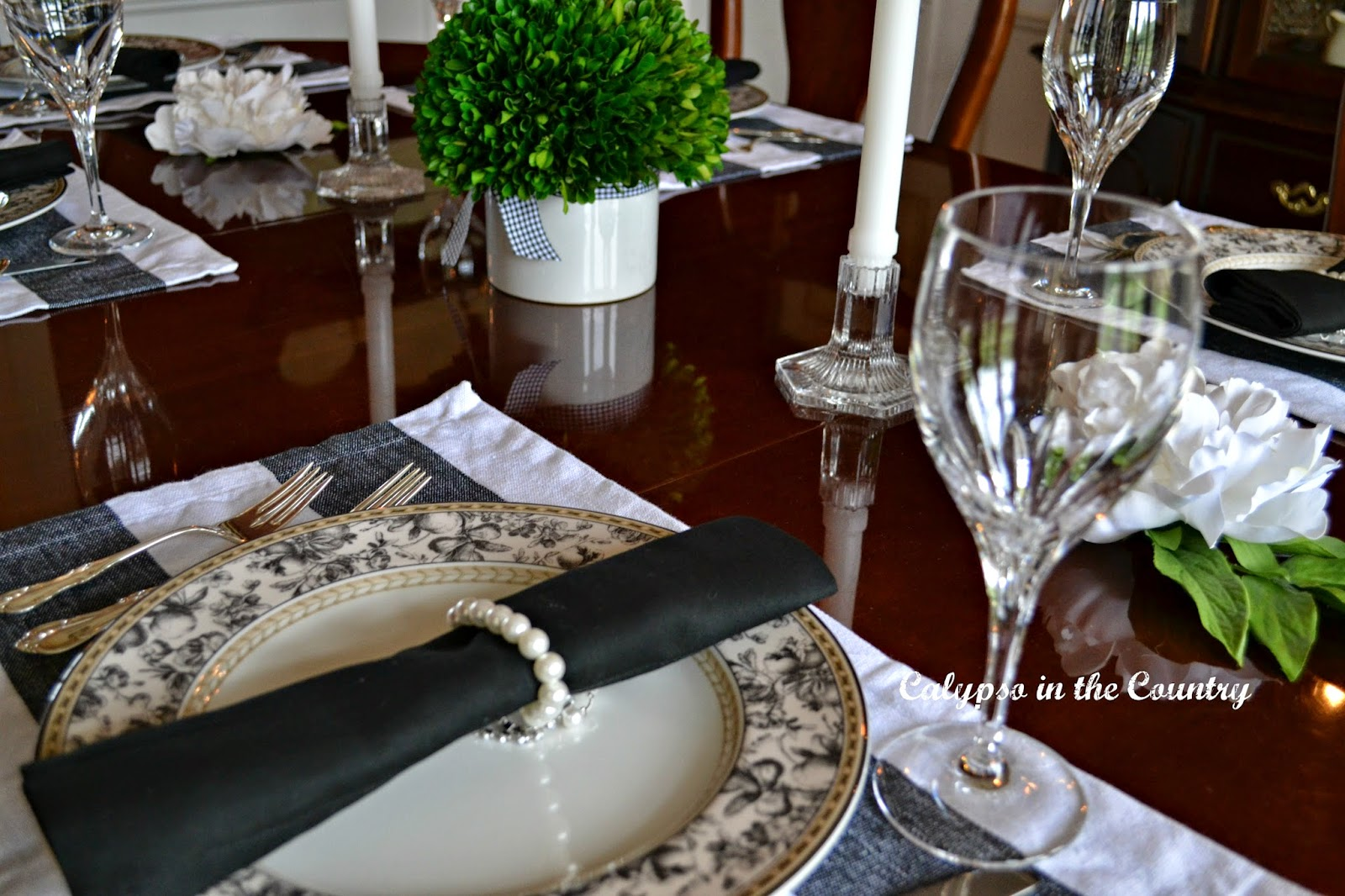 Favorite Posts of 2014 - Table Setting