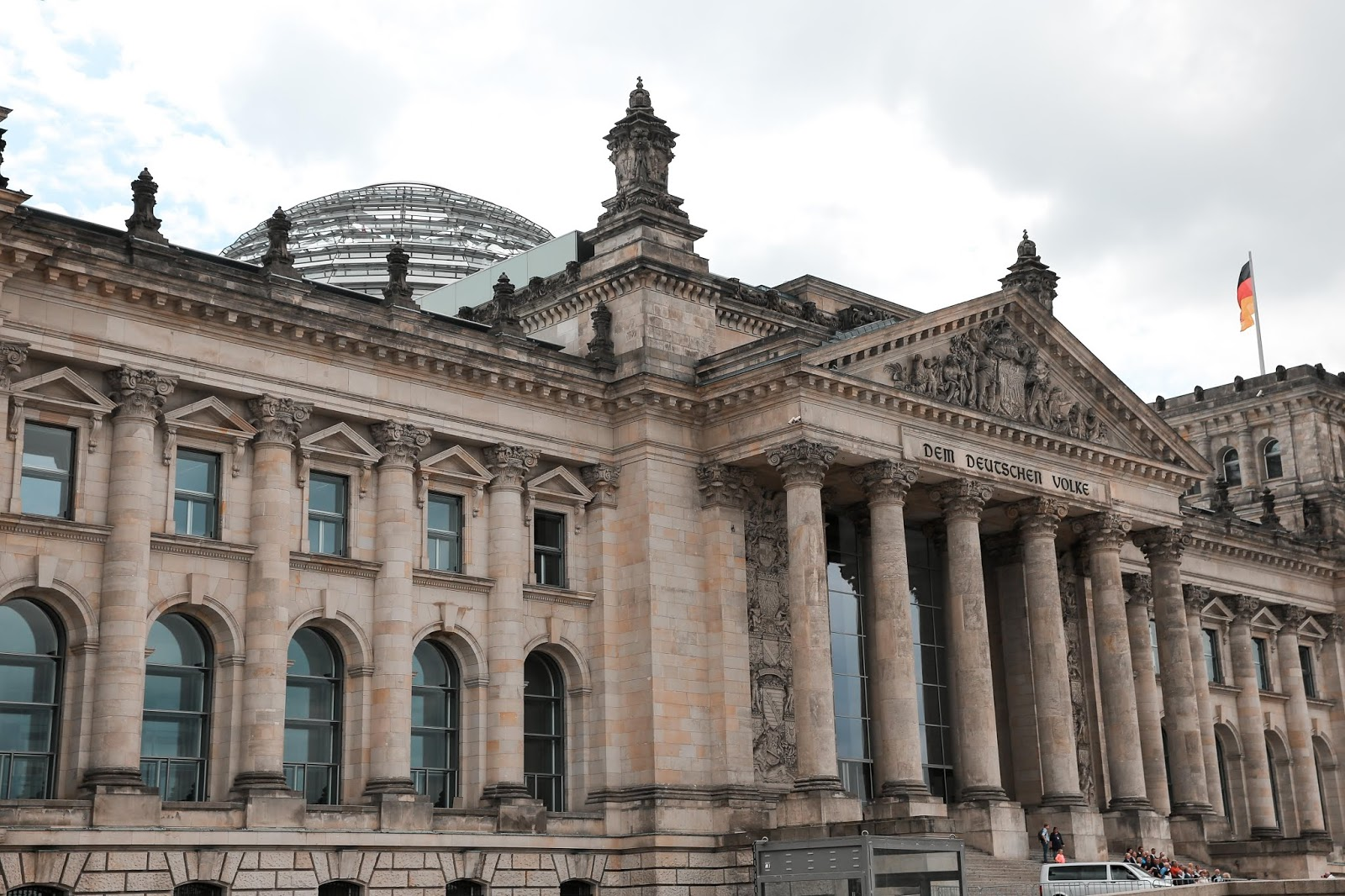 The Reichstag Building Exterior
