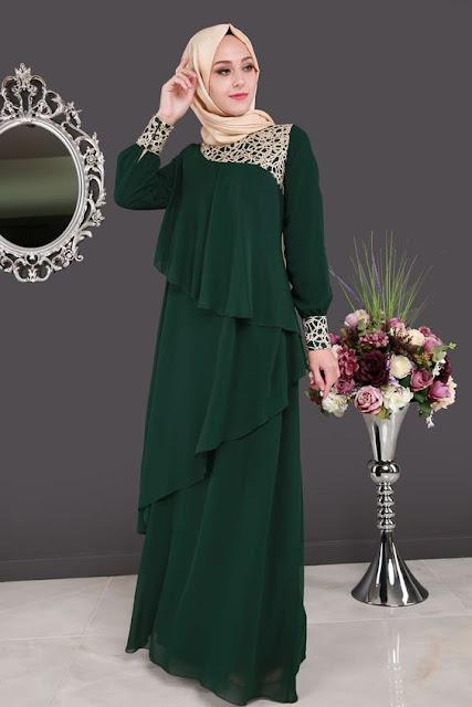Model Baju Busana Muslim Wanita Terbaru 2018