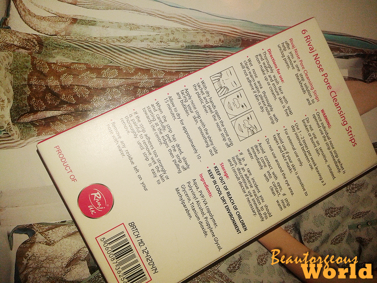 Rivaj UK - Nose Pore Cleansing strips Review - Beautorgeous