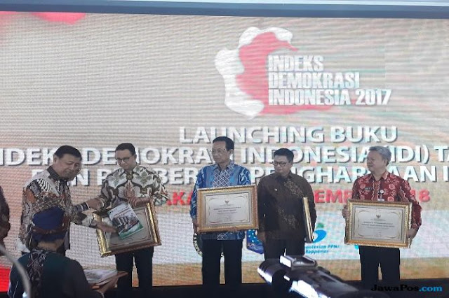 DKI Sabet Provinsi dengan Indeks Demokrasi Terbaik, Anies Sumringah