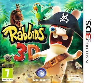 Rabbids 3D, 3ds, español