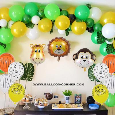 Ide Dekorasi Ulang Tahun Anak Sederhana Tema Jungle Party