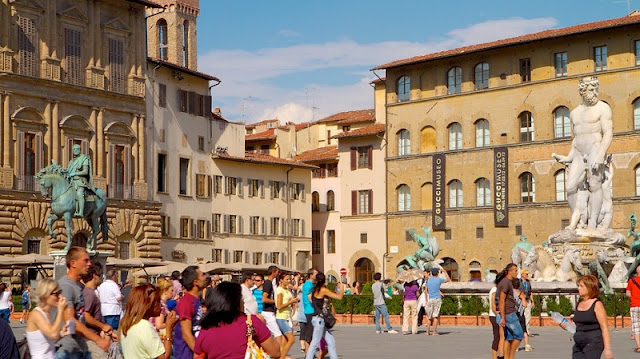 O que fazer na Piazza della Signoria em Florença