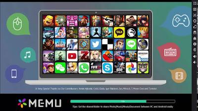 Emulator android untuk pc terbaik - Memu android emulator