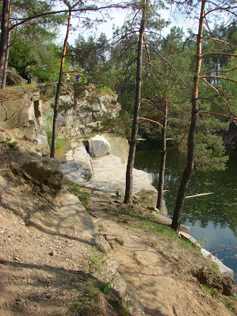 Озеро-карьер возле Коростышева