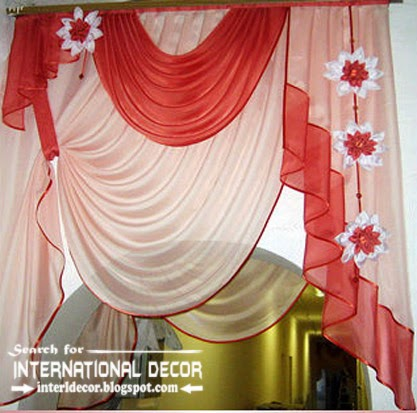 red and white kitchen curtains small window curtains curtain designs. Black Bedroom Furniture Sets. Home Design Ideas