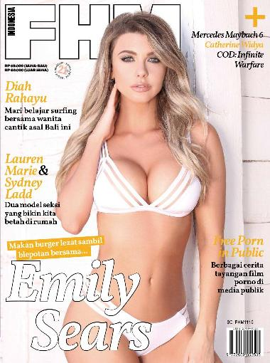 Download Majalah Gratis FHM Indonesia November 2016 Model FHM Emily Sears, Catherine Widya, Diah Rahayu, Mozza Shirrah, Sydney & Lauren | www.zone.downloadmajalah.com