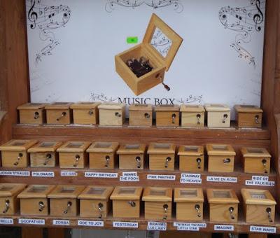 carillon al mercatino di natale di Cracovia