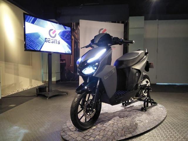 Gesits, Motor Listrik Murni Indonesia