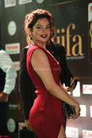 Natasha Nebasha in a Leg Slit Sleeveless Stunning Red Gown at IIFA Utsavam Awards 2017 041.JPG