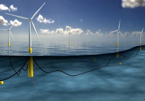 Tinuku Statoil builds the world's first floating wind power plant