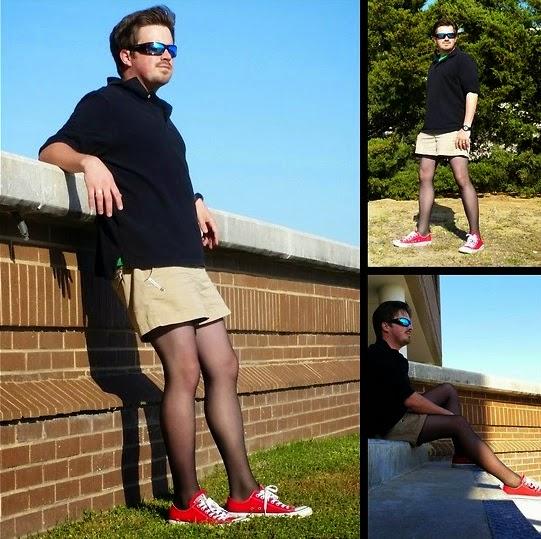 Woman Pantyhose For Men 85