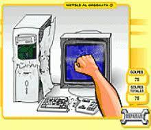 العاب ماهر - لعبة تدمير الكمبيوتر
