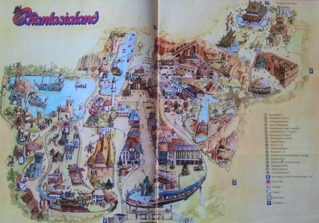 Phantasialand Karte.Phantasialand Mal Historisch Alte Pläne Https Www Anderswohin De