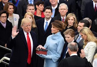 Oath of office Donald Trump