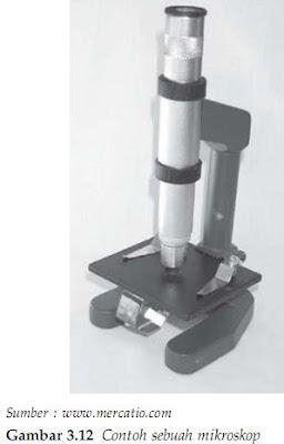 Contoh sebuah mikroskop