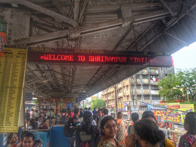 Serampore Train Station