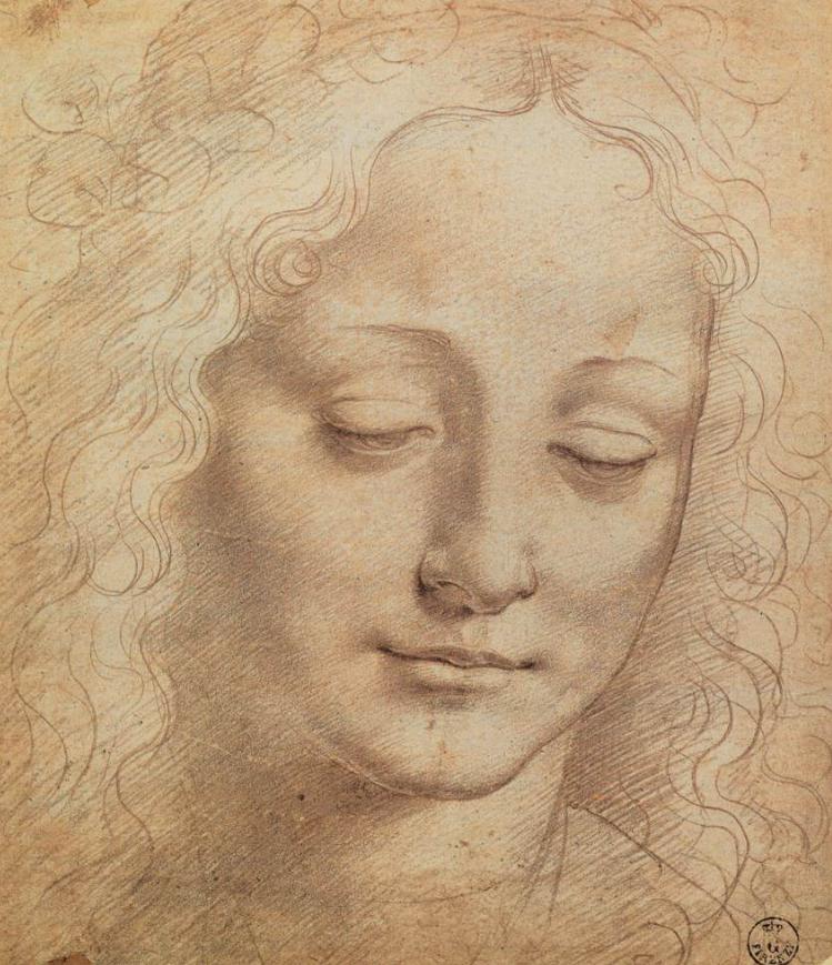 Leonardo DA VINCI Female Head