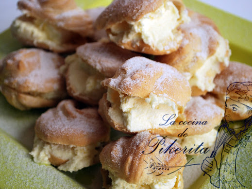 Choux sin gluten - Cooking Challengue