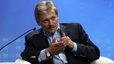 El vocero del Kremlin, Dmitri Peskov.