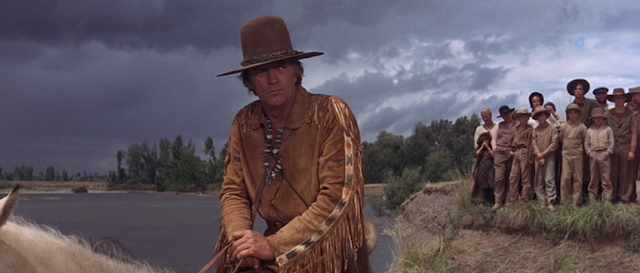 Robert Mitchum in The Way West (1967)