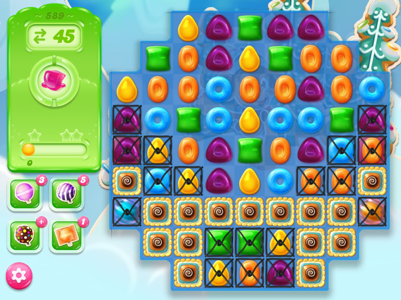 Candy Crush Jelly Saga level 589