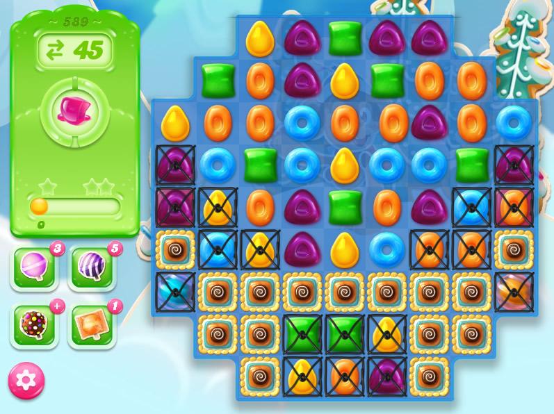 Candy Crush Jelly Saga level 589