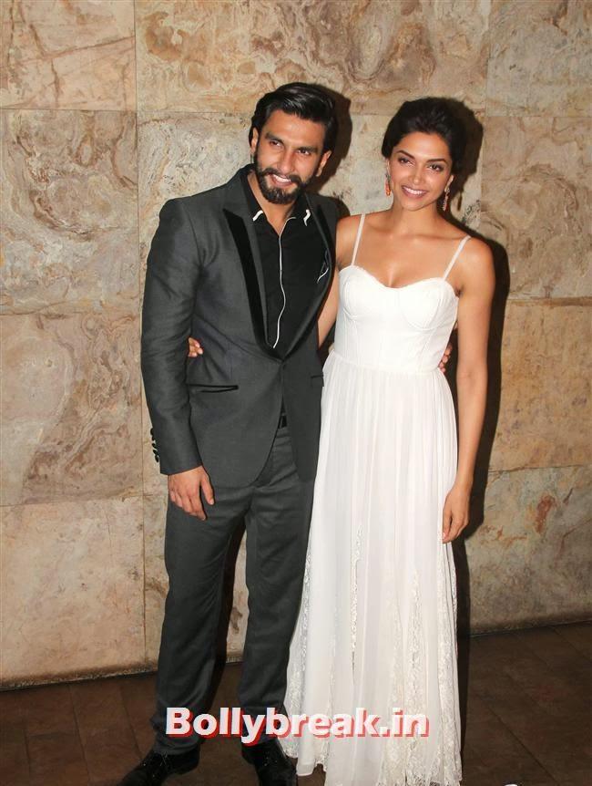 Ranveer Singh and Deepika Padukone, Ram Leela Premiere Photos