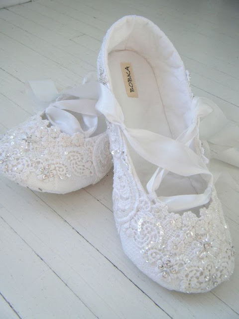 Lace Flats For Wedding