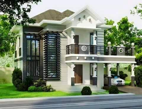 Contemporary house designs 2016 rendition bahay ofw for Simple bungalow house design with terrace