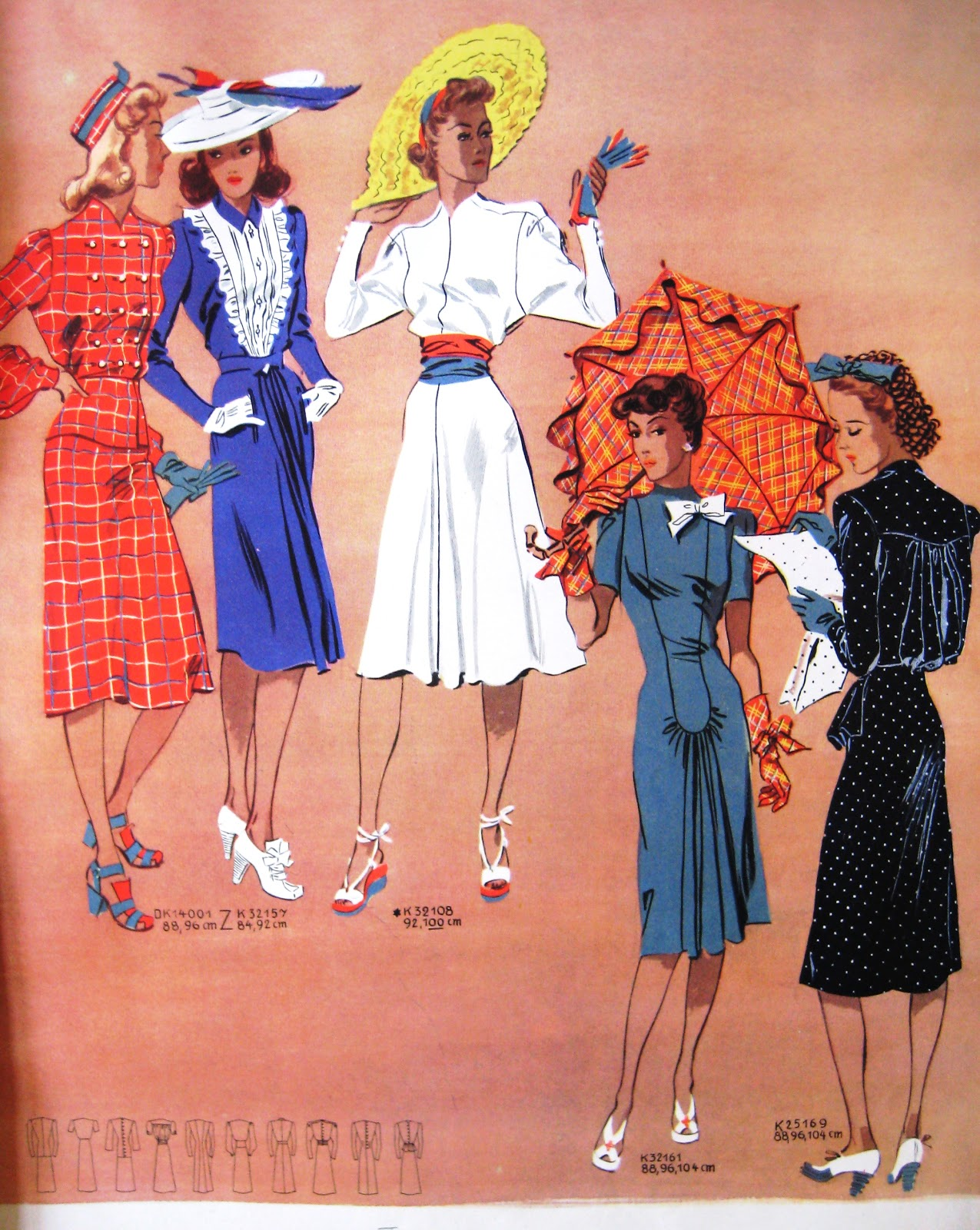 Sew Something Vintage: 1940s Fashion