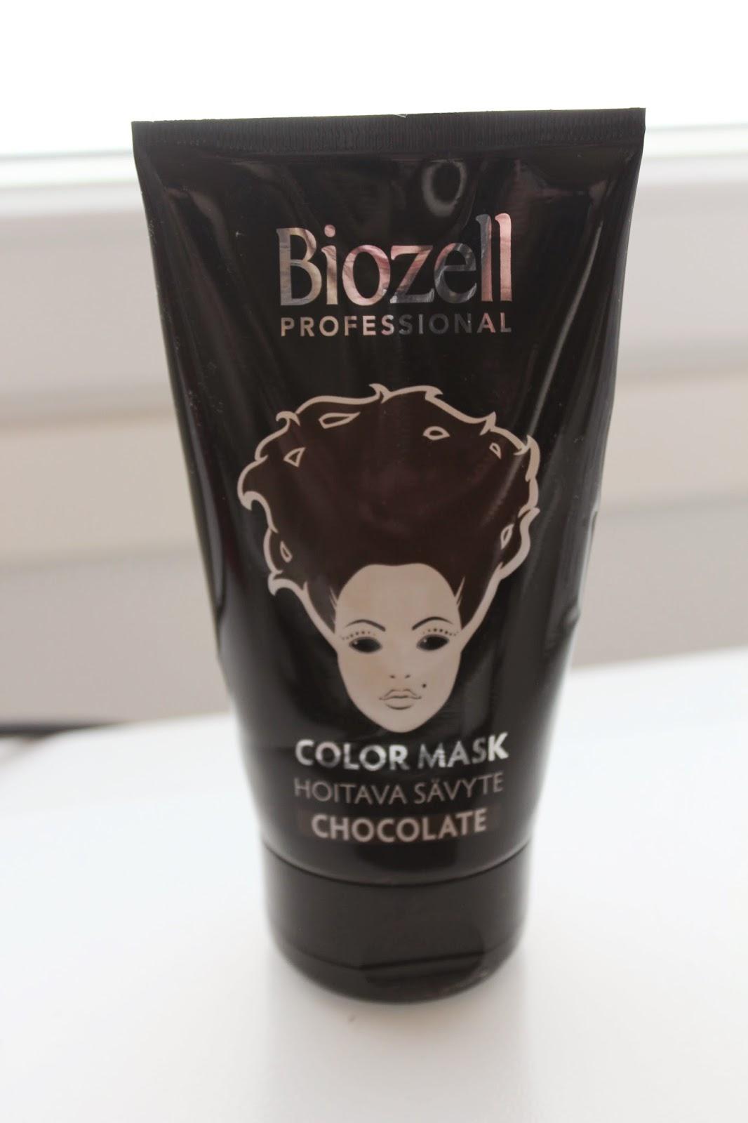 tähtipölyä: biozell professional color mask - chocolate