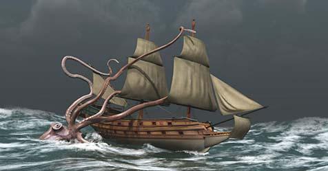 Kraken Legend of Giant Creature the Ruler of the Sea