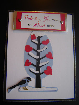 Winter Love Tree, designed by Grace Baxter