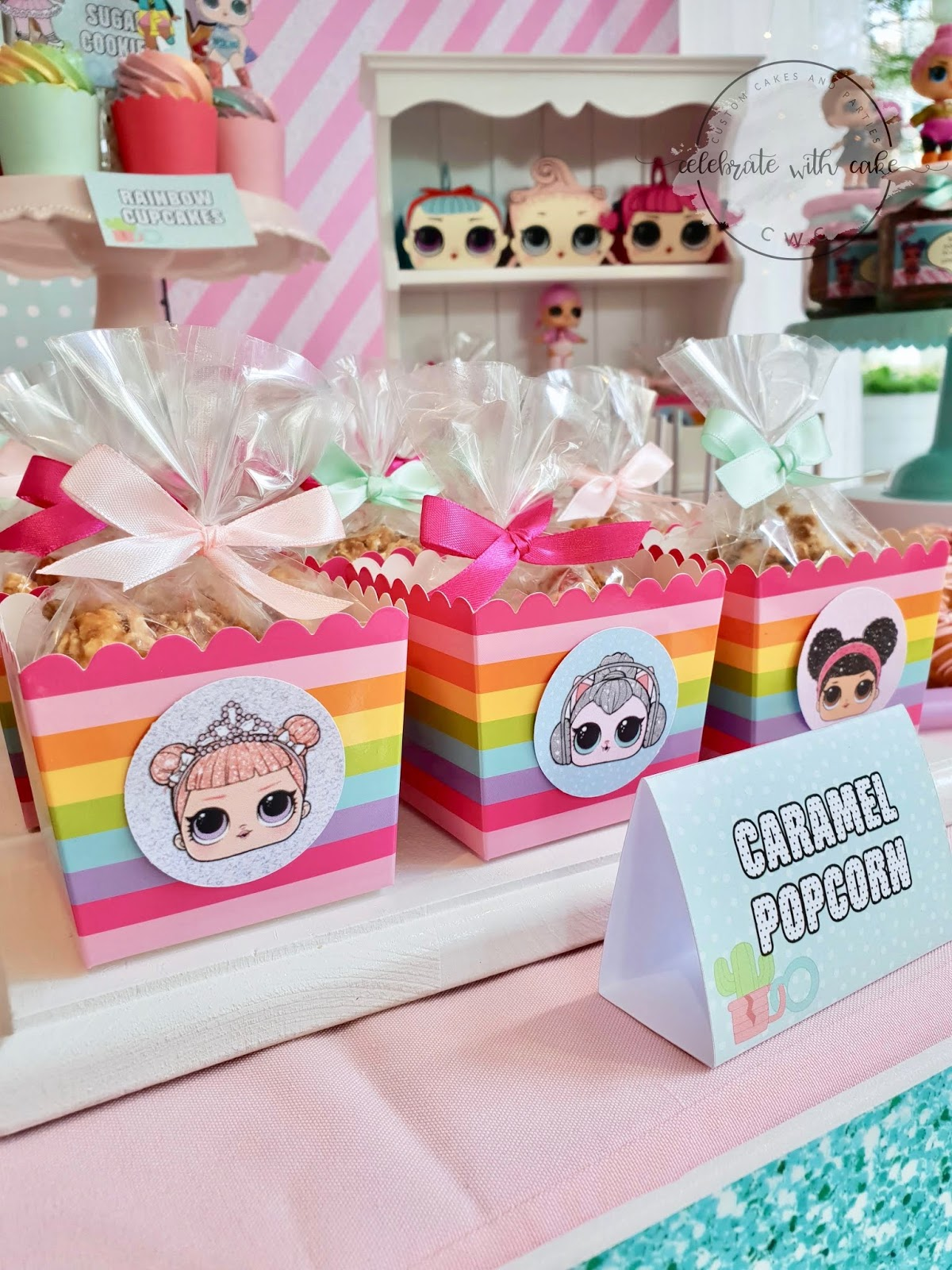 Celebrate with Cake!: LOL Dolls themed dessert table (Please click ...