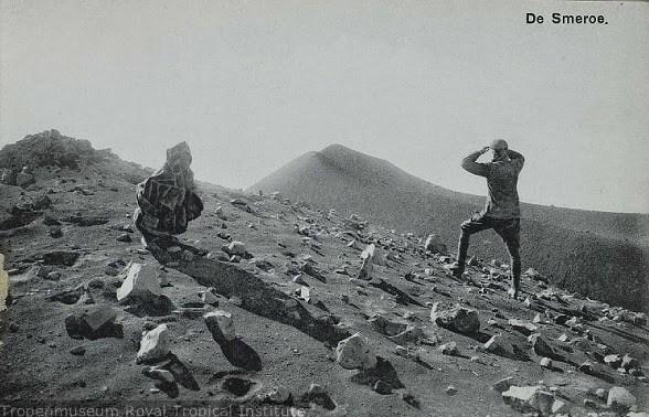 puncak gunung semeru zaman dulu