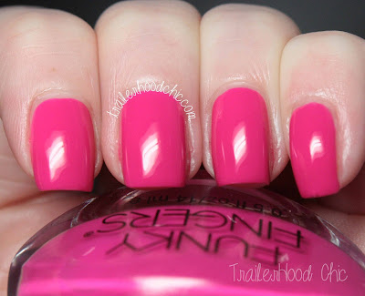 funky fingers on wednesdays we wear pink review swatches mean girls owwwp