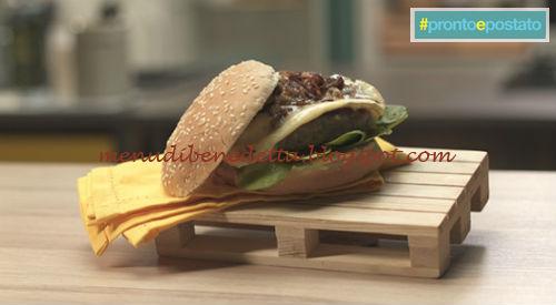 Pronto e postato - Brie burger ricetta Benedetta Parodi