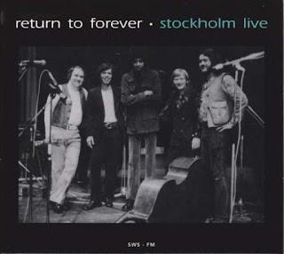 Return To Forever – Stockholm Live 1972-09-17