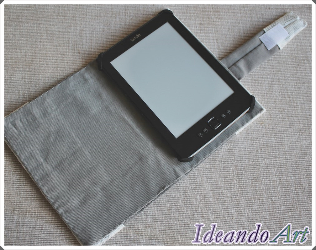 Interior funda para Kindle