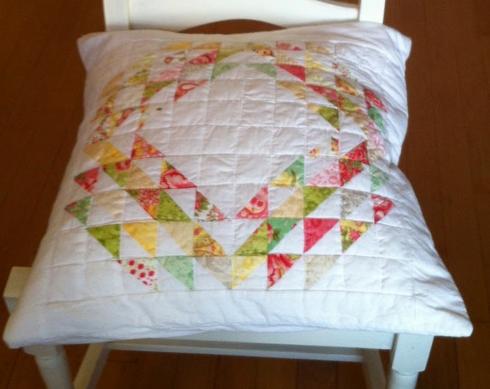 Kussensloop patchwork