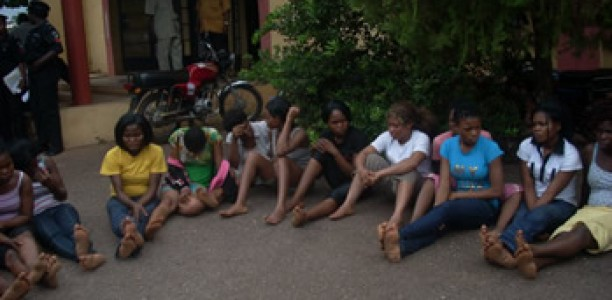 lesbians arrested lagos nigeria