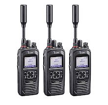 ICOM PTT Sat Phone Network