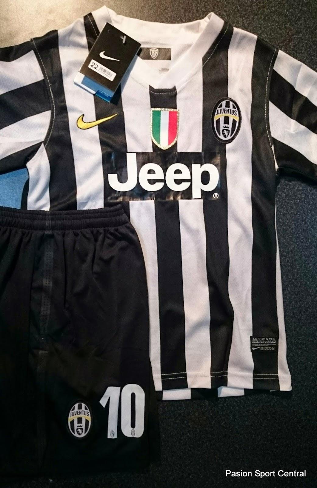 Conjunto niños Juventus titular 2014  7b9fe5349fd0d