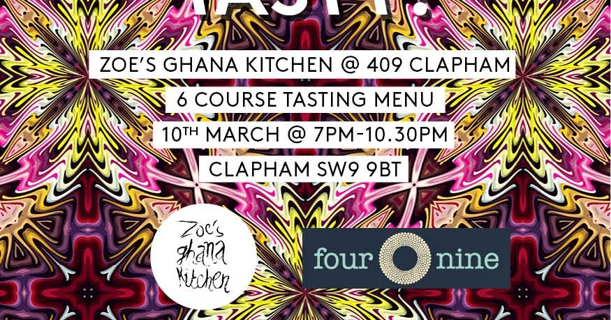 Zoe S Ghana Kitchen Pop Up