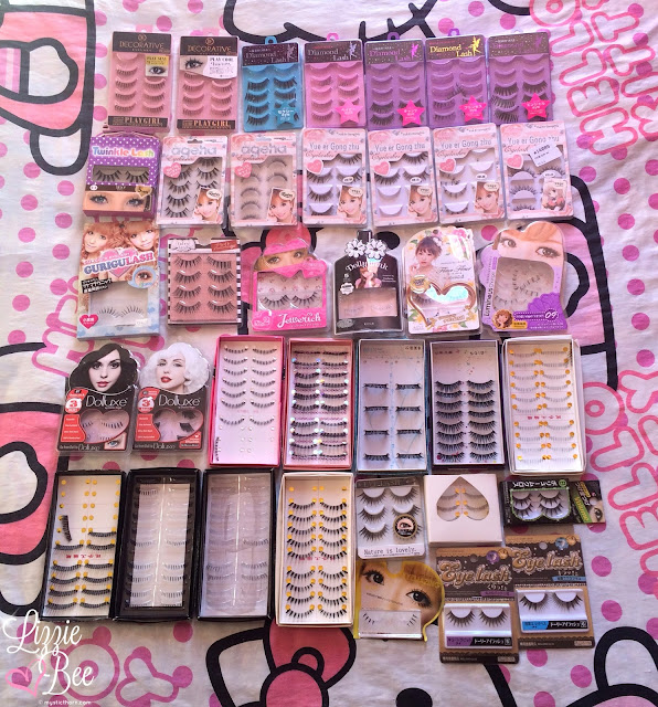 gyaru false lashes collection gaijin gyaru