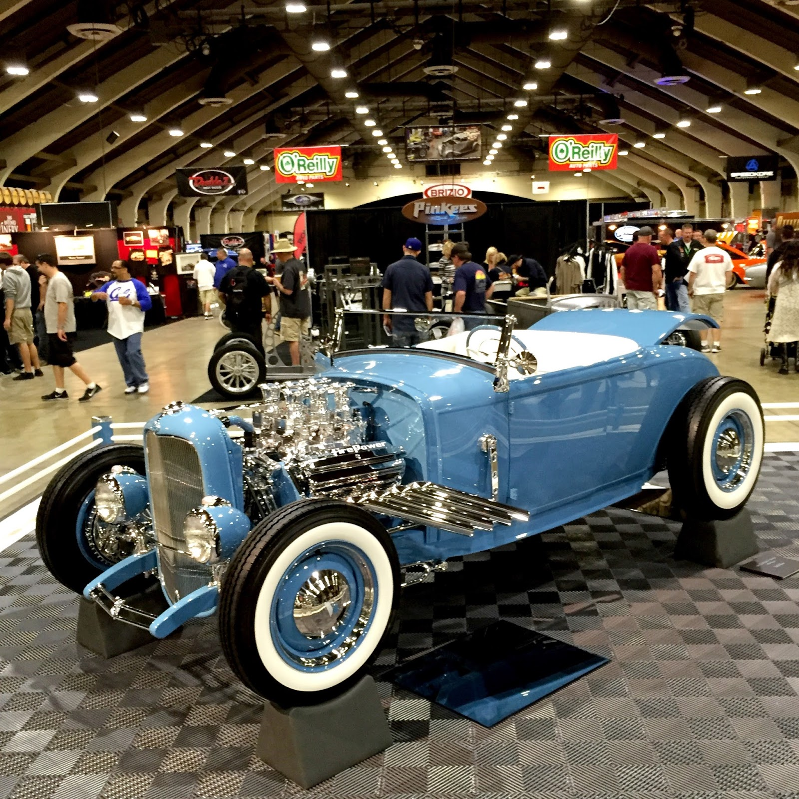 Covering Classic Cars : 2016 Grand National Roadster Show